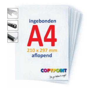 A4 ingebonden