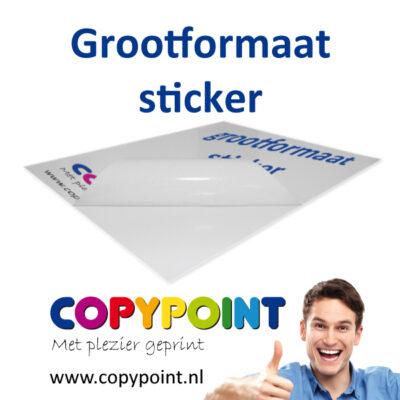 Grootformaat-sticker