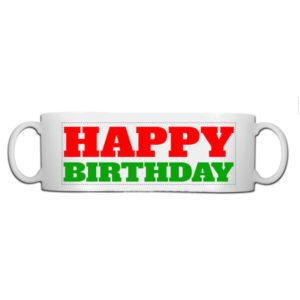 Fotobeker Happy birthday