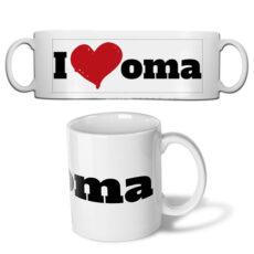Fotobeker I love oma