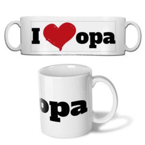 Fotobeker I love opa