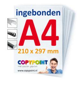 A4-lingebonden