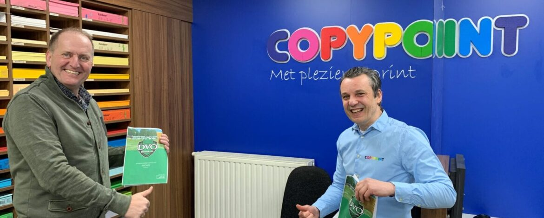 Copypoint nieuwe Bronze Sponsor bij DVO/Accountor